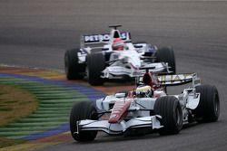 Giancarlo Fisichella, Force India F1 Team, Robert Kubica, BMW Sauber F1 Team, F1.08