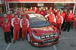 Citroën Team photo