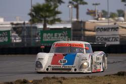 #58 Brumos Racing Porsche Riley: David Donohue, Darren Law, Buddy Rice