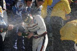 Podium GT : champagne pour tous