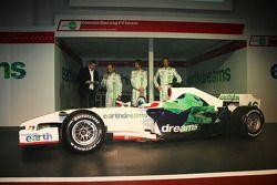 Rubens Barrichello, Honda Racing F1 Team, Jenson Button, Honda Racing F1 Team, Alexander Wurz, Test