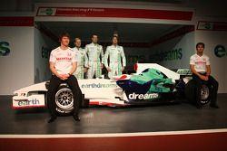 Mike Conway, Test Driver, Honda Racing F1 Team, Rubens Barrichello, Honda Racing F1 Team, Alexander