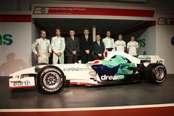 Rubens Barrichello, Honda Racing F1 Team, Jenson Button, Honda Racing F1 Team, Nick Fry, Honda Racin