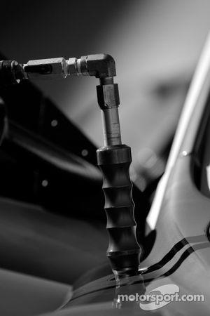 Detail of the Bell Motorsports Aston Martin DBR9