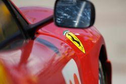 Detail of the Risi Competizione Ferrari 430 GT