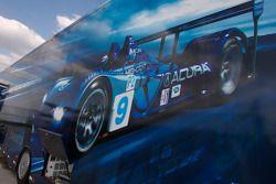 Highcroft Racing transporter