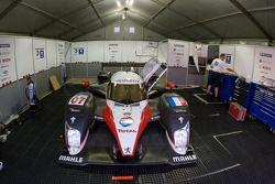 Peugeot Total paddock area