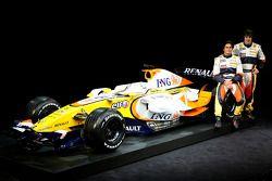 Fernando Alonso und Nelson Piquet mit dem Renault R28