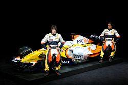 Фернандо Алонсо и Нельсон Пике, Renault