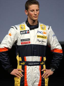 Romain Grosjean Test Pilotu