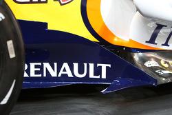 Renault F1 R28: Windabweiser