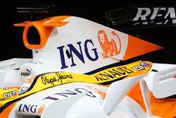Renault F1 R28: Motorhaube