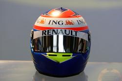 Helmet, Romain Grosjean Test Driver, Renault F1 Team