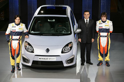 New Twingo RS, Launch venue, Fernando Alonso, Renault F1 Team, Nelson A. Piquet, Renault F1 Team