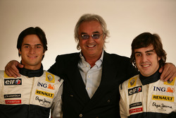 Fernando Alonso, Renault F1 Team, Flavio Briatore, Renault F1 Team, Team Chief, Managing Director, N