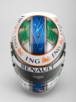 Helmet, Lucas Di Grassi, Test Driver, Renault F1 Team