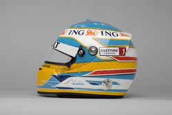 Casco de Fernando Alonso, Renault F1 Team