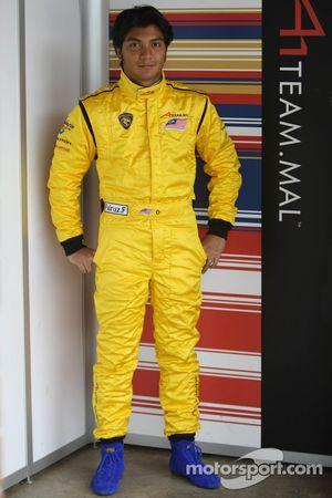 Fairuz Fauzy, Driver of A1Team Malaysia