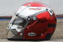 Fairuz Fauzy, Driver of A1Team Malaysia, Helmet