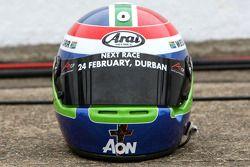Wesleigh Orr, driver of A1 Team South Africa, Helmet