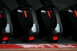 McLaren Mercedes pits