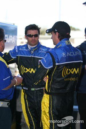 Christian Fittipaldi and Bryan Herta