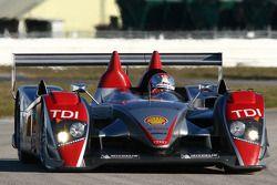 #2 Audi Sport North America Audi R10 TDI: Rinaldo Capello, Allan McNish, Tom Kristensen, Mike Rocken