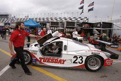 Alex Job Racing Porsche Crawford : Bill Auberlen, Joey Hand, Patrick Long, Andy Wallace