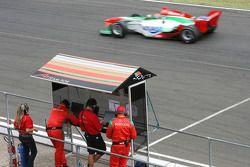 Joao Urbano, driver of A1 Team Portugal