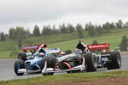 Jarak Janis, driver of A1 Team Czech Republic and Edoardo Piscopo, driver of A1 Team Italy