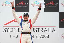 Winner, 1st, Loic Duval, driver of A1 Team France