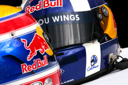 Helmets of David Coulthard, Red Bull Racing and Mark Webber, Red Bull Racing, RB4