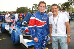 Robbie Kerr, driver of A1 Team Great Britain and Juninho