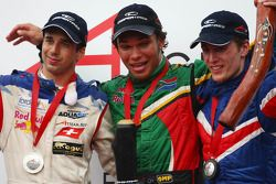 Winner, 1st, Adrian Zaugg, driver of A1 Team South Africa, 2nd, Neel Jani, driver of A1 Team Switzer