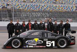 #51 Cheever Racing Porsche Fabcar: Thomas Erdos, Tom Kimber-Smith, Scott Mayer, Mike Newton, Brent Sherman
