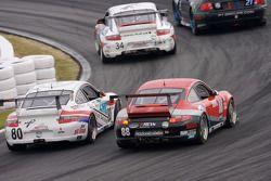 #80 Synergy Racing Porsche GT3 Cup: Lance Arnold, Damien Faulkner, Mark Greenberg, Jan Heylen, #87 F