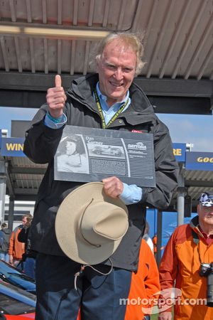 Dan Gurney inducted in the Goodyear Legends of Daytona