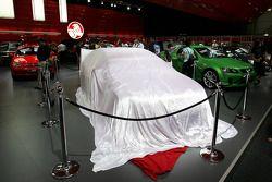2008 Supercheap Auto Racing car underwraps