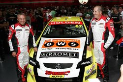 Very happy Russell Ingall, Paul Morris