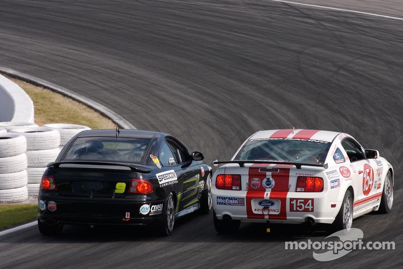 #154 Jim Click Racing Ford Mustang GT: Jim Click, Mike McGovern, #9 Spirit of Daytona Racing Pontiac GTO: Bryan Collyer, Doug Goad