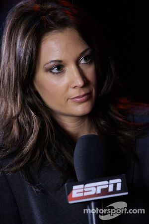 ESPN reporter Nicole Briscoe