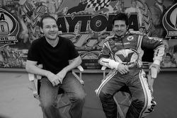 Jacques Villeneuve and Patrick Carpentier
