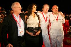 Jan Mol, Michiel Mol ve Dr. Colin Kolles, Force India F1 Takım Menajeri