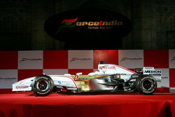 The Force India VJM01