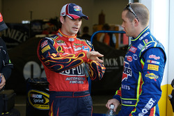 Jeff Gordon y Casey Mears