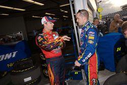 Jeff Gordon y Casey Mears