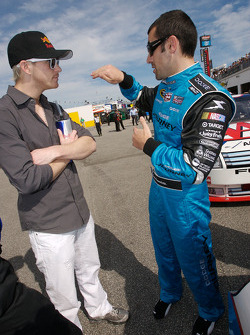 Scott Speed and Dario Franchitti