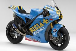The 2008 Rizla Suzuki GSV-R of Loris Capirossi