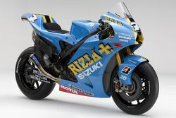 The 2008 Rizla Suzuki GSV-R of Chris Vermeulen