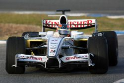 Vitantonio Liuzzi, Test Pilotu, Force India F1 Team, F8-VII-B